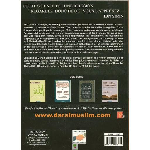Abu Bakr, le Premier Calife de l'islam verso - salsabil