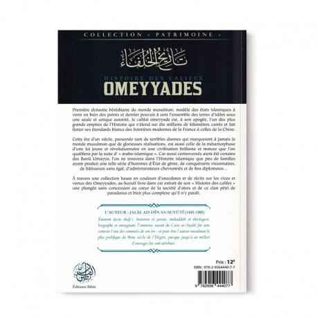 Histoire des califes omeyyades Editions Ribat salsabil verso