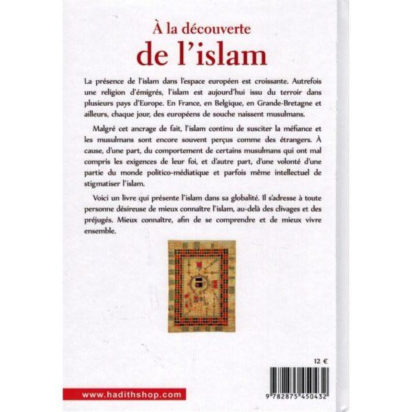 A la découverte de l'Islam - Hâmid Muhammad Gânim - Al-Hadîth-salsabil verso