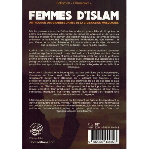 femmes-d-islam-anthologie-des-grandes-dames-de-la-civilisation-musulmane-issa-meyer-editions-ribat-verso