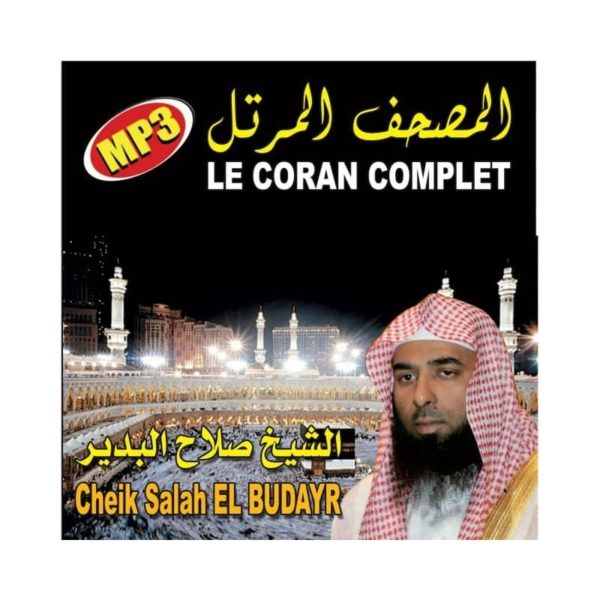 le-coran-complet-cd-mp3-cheikh-salah-el-budayr-cd
