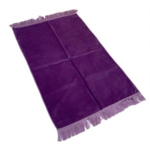 tapis-de-priere-de-luxe-couleur-VIOLET-unis-adulte-73-x-110-cm