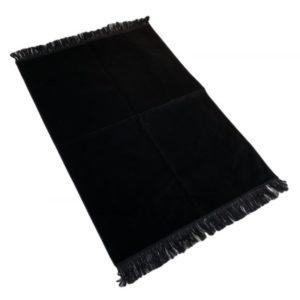 tapis-de-priere-de-luxe-couleur-noir-unis-adulte-73-x-110-cm