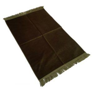 tapis-de-priere-de-luxe-couleur-vert-fonce-unis-adulte-73-x-110-cm