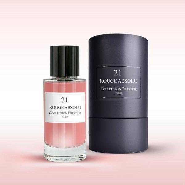PARFUM COLLECTION PRESTIGE N21 ROUGE ABSOLU 50ML Eau de Parfum