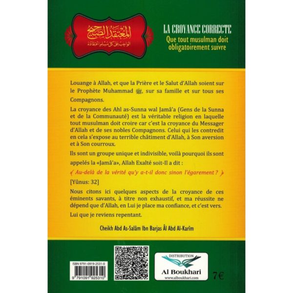 la-croyance-correcte-shaykh-ibn-barjas-ibn-badis (1)