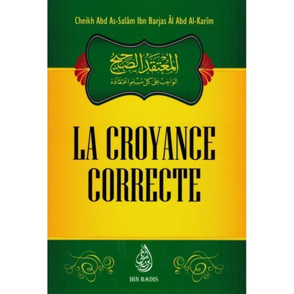 la-croyance-correcte-shaykh-ibn-barjas-ibn-badis