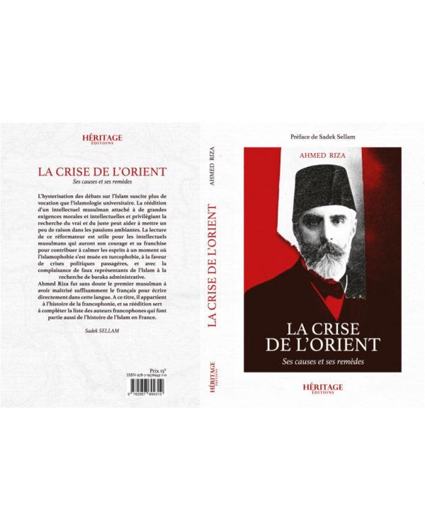 la-crise-de-l-orient-ahmed-riza-editions-heritages